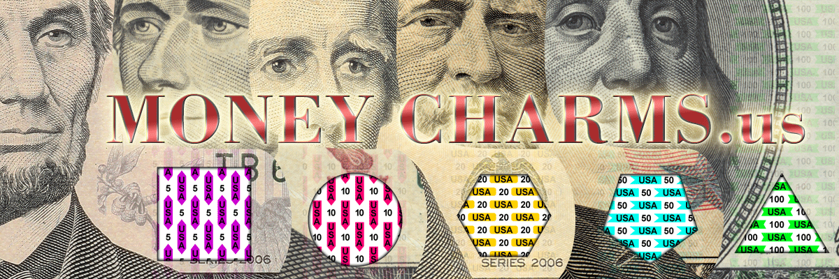 Money Charms Logo Banner